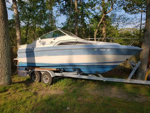 21 foot 1988 SeaRay Seville & Trailer for Sale in East Islip, NY