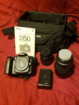 Nikon D50 DSLR camera for Sale in Seattle, WA