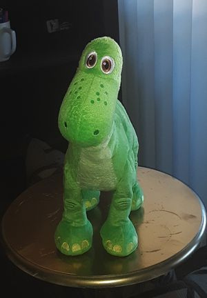 Geniune Disney Movie The Good Dinosaur talking Arlo Green Plush Toy Soft Doll for Sale in US