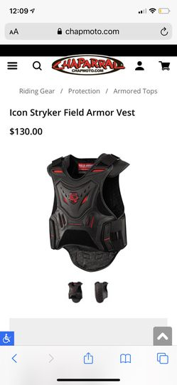 Motorcycle Armor Vest for Sale in Snohomish,  WA