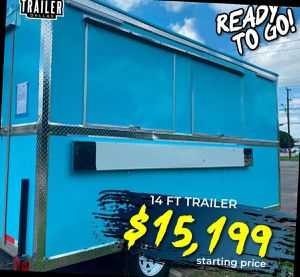 !!!FOOD TRAILERS!! READY TO PASS INSPECTION... 60 for Sale in Dallas, TX