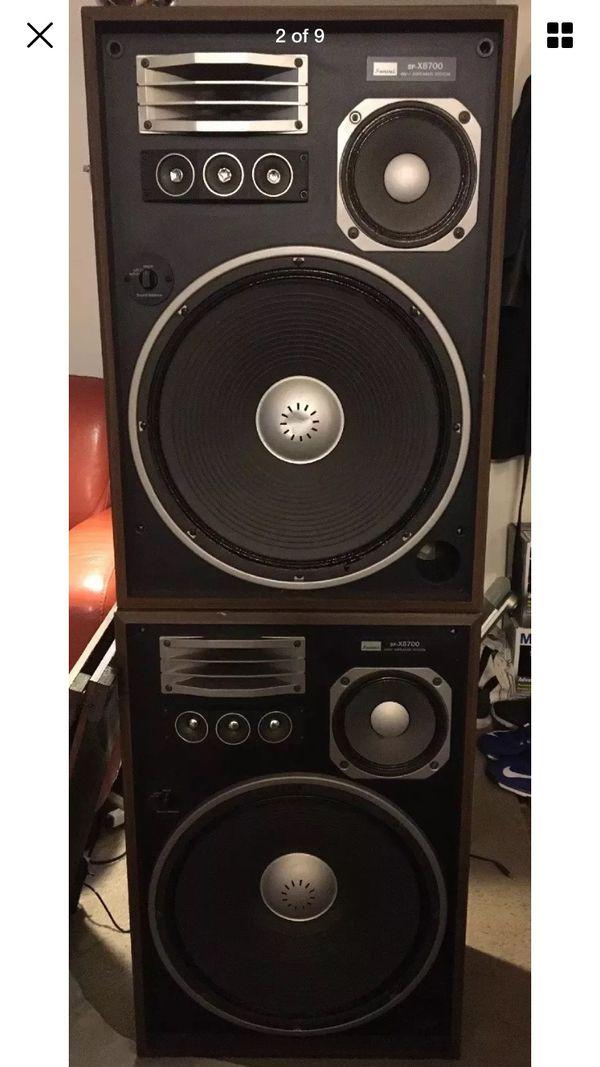 Sansui SP-X8700 Speakers