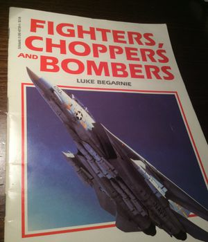 Fighters choppers and bombers softcover 32 pages for Sale in Colorado Springs, CO
