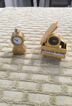 Antique collection of clock & piano for Sale in Miami, FL