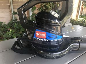 Toro electric leaf blower 51591 for Sale in Santa Monica, CA