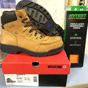 Steel Toe Wolverine Work Boots 11.5 -NEW! for Sale in CA, US