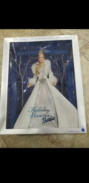 New in box First in series 2003 Winter Fantasy Special edition Holiday visions Barbie for Sale in Hollywood, FL