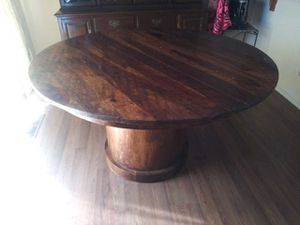 Solid wood kitchen table sits 6 for Sale in Milpitas, CA