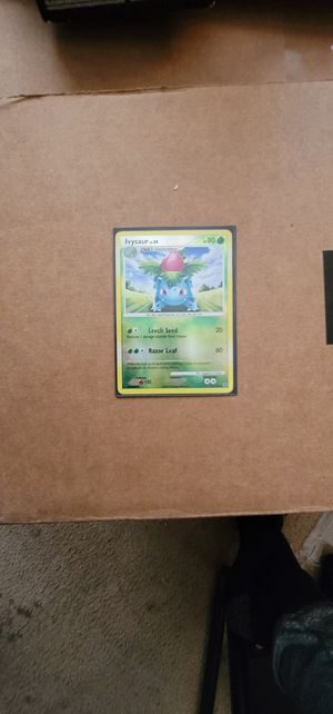 Ivysaur 51/132 Reverse Holo Mint Pokemon Card for Sale in Manteca, CA