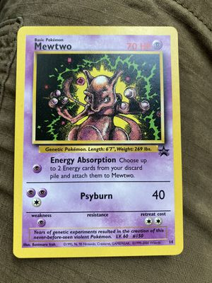 Mewtwo Pokémon Card Promo for Sale in Forney, TX
