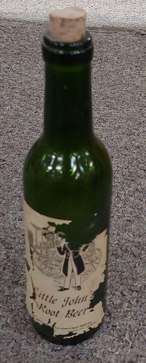 Antique Little John's Root Beer Bottle for Sale in Burlington, NC