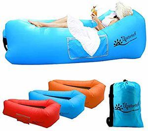 Inflatable Lounger Air Sofa Outdoor Portable Fast Inflatable Mattress with Tear-Resistant Fabric,Compact Carry Bag, for Sale in Torrance, CA