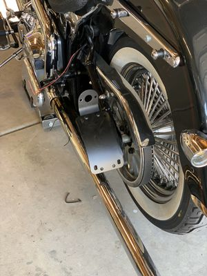 License plate side mount for motorcycle for Sale in Fontana, CA