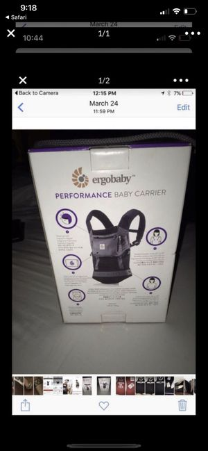 Ergo baby carrier brand new!!! for Sale in Fontana, CA
