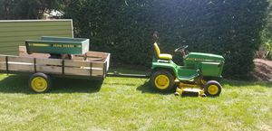 John Deere 310 with Power Take Off with 2 dump traliers for Sale in Westfield, IN