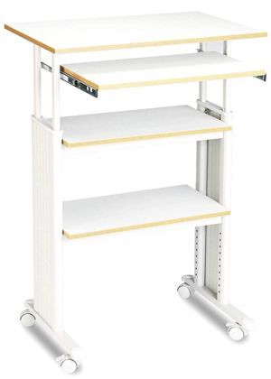 3 Shelf adjustable Stand up desk for Sale in Tracy, CA