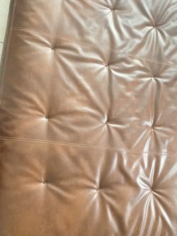 Brown Leather Futon Mattress for Sale in Los Angeles,  CA