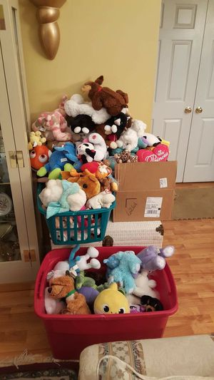 Stuffed animals or best offer. for Sale in Charlotte, NC