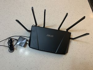 ASUS AC3200 Tri-Band Gigabit WiFi Router, AiProtection Lifetime Security by Trend Micro, Adapt for Sale in Naperville, IL