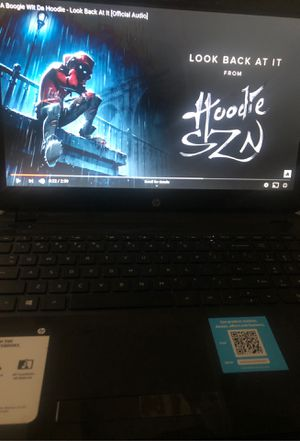 Hp touch screen laptop for Sale in Rolesville, NC