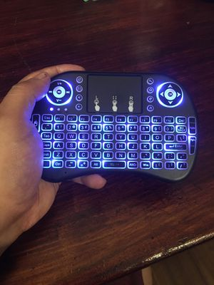 ❇️ Mini wireless keyboard 2.4G Air Mouse Keyboard remote control touchpad perfect for tablet(with USB),notebook, pc, Android TV box, Games console, for Sale in Pembroke Pines, FL