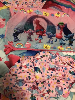 Trolls bedding for Sale in La Habra, CA