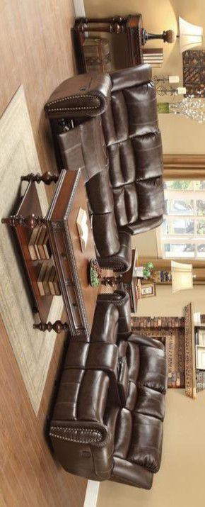 CENTER HILL BROWN RECLINING LIVING ROOM SET for Sale in Houston, TX