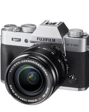 Fujifilm X-T20 Mirrorless Digital Camera w/XF18-55mmF2.8-4.0 R LM OIS Lens-Silver & ACCESSORIES for Sale in Austin, TX