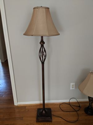 Marble floor lamp for Sale in Sanford, NC