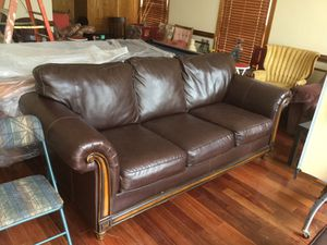 Leather couches for Sale in Centreville, VA