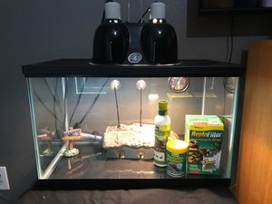 Turtle Tank 10 Gallon for Sale in Houston, TX