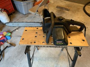 "Craftsman Electric Chain Saw 3.5hp 16"" bar for Sale in Freehold, NJ"