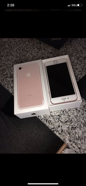 iPhone 7 Locked currently for Sale in Lexington, KY