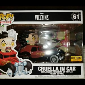 Disney Cruella De Vil EXCLUSIVE Funko Rides for Sale in Philadelphia, PA