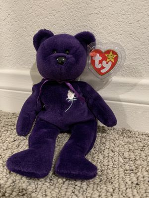 "Ty beanie baby bear ""princess"" for Sale in Menifee, CA"