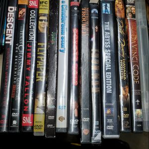 $4 All -Lot 13 DVDs action comedy sci-fi drama horror for Sale in Renton, WA