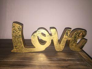 Love Home Decor for Sale in Pooler, GA