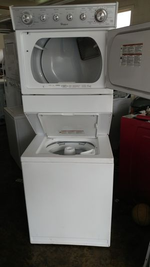 27 Whirlpool gas stackable washer&dryer for Sale in Hillcrest Heights, MD