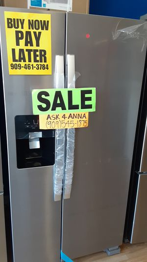 ⭐Apartment sized Whirlpool refrigerator ⭐️APPLIANCES IN PAYMENTS⭐️ ❌NO CREDIT NEEDED🦋ASK FOR ANNA FOR DISCOUNT🦋 for Sale in Rancho Cucamonga, CA