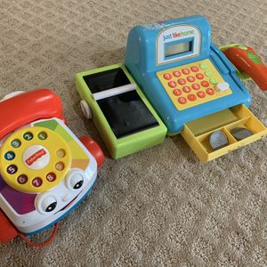Toy Phone + Chashier Machine for Sale in Germantown, MD