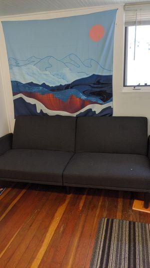 Gray futon (OBO) for Sale in Boulder, CO