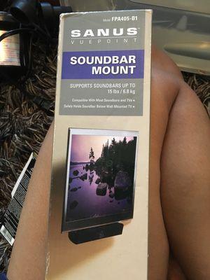SoundBar Mount supports 15lb/6.8 kg for Sale in Payson, AZ