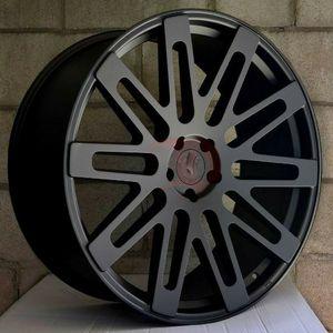 """New 24"""" R24 5x120 Black Wheels for Sale in Miami, FL"""
