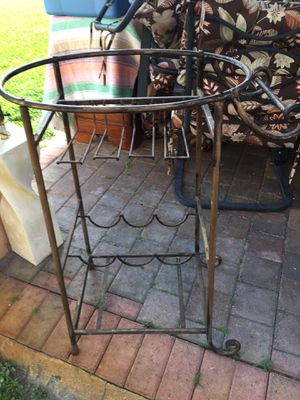 Solid iron cast rack for $20 for Sale in Pembroke Pines, FL