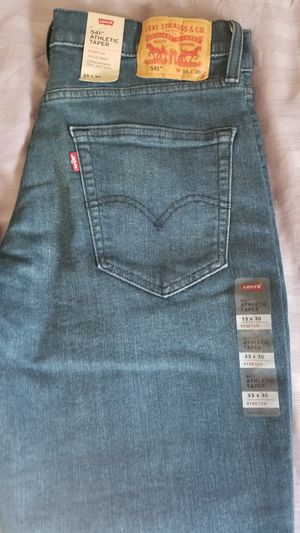 Levi's 541 Athletic Taper 33x30 Stretch Jeans for Sale in Las Vegas, NV