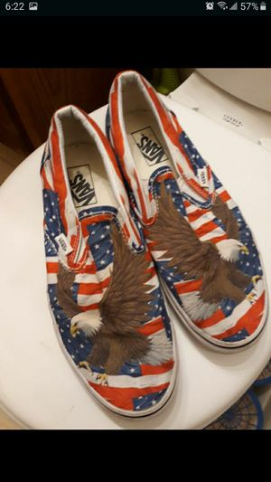 VANS USA EAGLE SLIP-ON SKATEBOARD SHOES MEN'S SIZE 9 for Sale in Seattle, WA