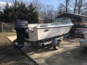 Boat Larson 16.6' 70hp(91 evenrude) for Sale in Fort Washington, MD
