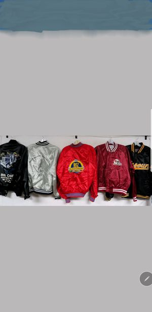 SATIN BOMBER JACKETS 10 EACH for Sale in Alexandria, VA
