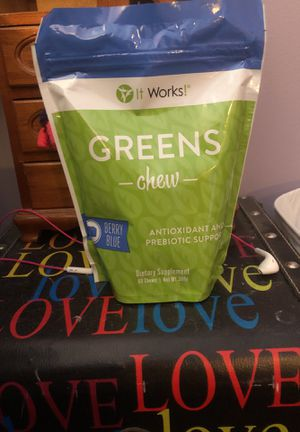 It works greens chew for Sale in Mackinaw, IL