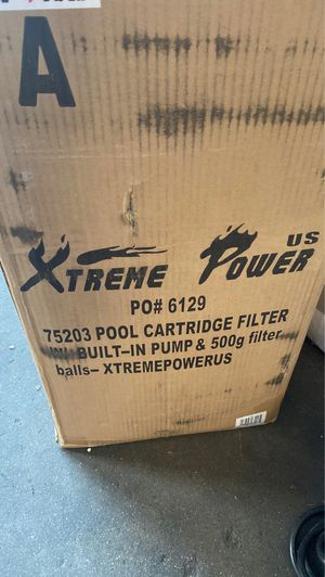 Cartridge filter for above ground Pool for Sale in Irwindale, CA